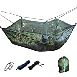 Material: Nylon fabric Maximum load: 200 kg Dimension(L*W)=260*130 cm/102*51'' Package included: 1 x Portable Travel Hammock 4 x Strong Ropes 1 x Pack Bag (size:26*20 cm/10.23*7.87'') 2 x Carabiner
