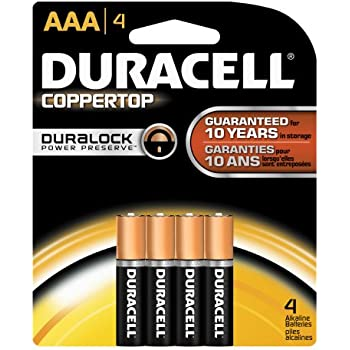 Amazon.com: Duracell - CopperTop AAA Alkaline Batteries