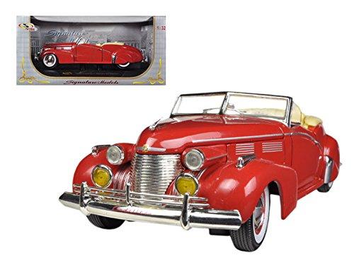 1940 Cadillac - 1940 Cadillac Sedan Series 62 Red 1/32 Car Model by Signature Models