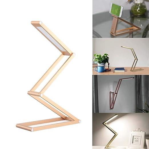 ZhayXS Lámpara Escritorio LED Aluminio con Regulable Lámparas de ...