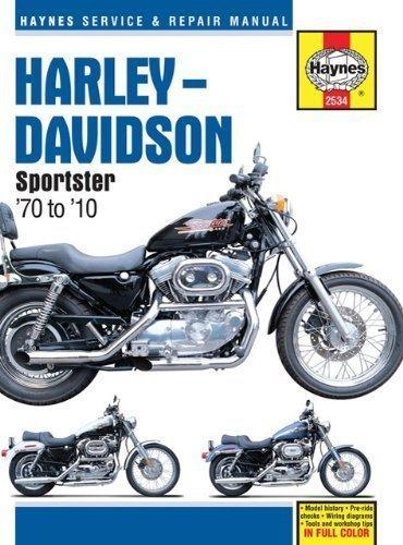 Harley Davidson Sportsters 1970 thru 2010 (Haynes Service & Repair Manual) by Haynes 1st (first) Edition (10/14/2010) Harley Davidson Service Manual Online