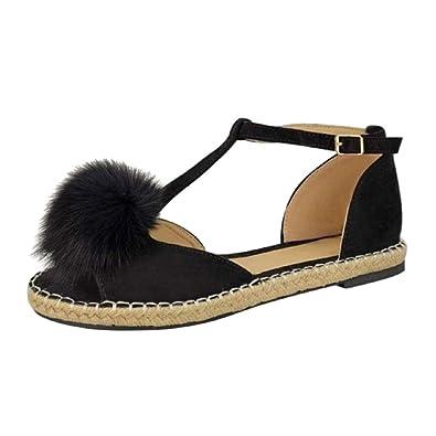 a72d510969431f Lolittas Ladies Summer Black White Beach Flat Sandals for Women ...