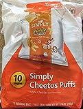 cheese cheetos - Cheetos simply cheese puffs white cheddar 8.75 ounce