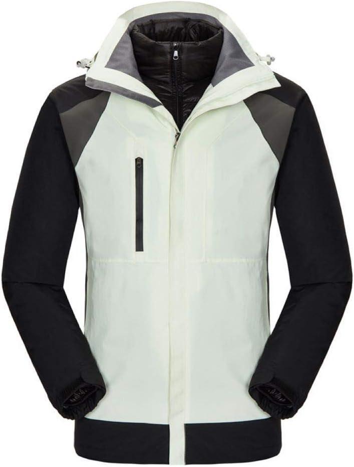 男性、寒さと暖かい取り外し可能なライナーツーピースジャケット用ダウンジャケット  Large