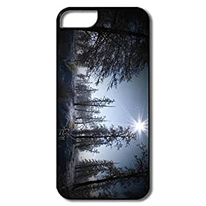 IPhone 5 5S Cases, Magic Winter White/black Protector For IPhone 5/5S