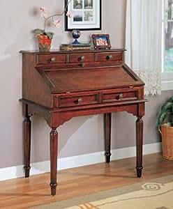 Office Furniture Secretary Desk Antique Portable Writing Desk