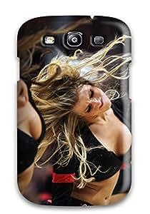 DanRobertse Scratch-free Phone Case For Galaxy S3- Retail Packaging - Houston Rockets Cheerleader Basketball Nba