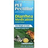 Lambert Kay Pet Pectillin Diarrhea Medication for Dogs and Cats, 4 fl. oz.