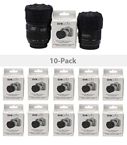 GVB GEAR Front and Rear Professional Lens Protectors for DSLR and Mirrorless Lenses Multi Pack = 10 Pack by gvb gear (Image #5)