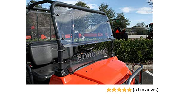 2005-13 Kubota RTV 900 XT Hard Coat Full Windshield By EMP 11238