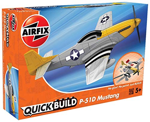 Airfix Quickbuild P-51D Mustang Plastic Model Kit