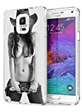 Samsung Galaxy Note 4 Cases and Covers Snap on Protective Cool Girl Design