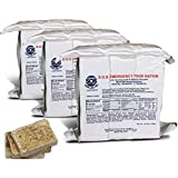 S.O.S. Rations Emergency 3600 Calorie Food Bar - 3 Day / 72 Hour Package with 5 Year Shelf Life- 3 Packs