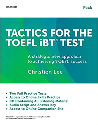 Amazon tactics for the toefl ibt test pack student book with amazon tactics for the toefl ibt test pack student book with answer key audio script and cd tactics for the toefl ibt r test 9780199020188 fandeluxe Choice Image