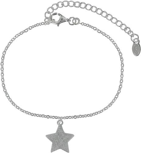 pulsera estrellas plata