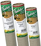 Fredrix Unprimed 138 Linen Coarse Roll: 3 yds. x 54'', 9 oz.