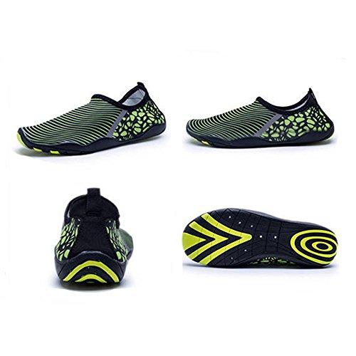 688 Beach Aqua Slip Barefoot Women HooyFeel on Shoes for green1 Quick Water Men and Dry Shoes Multifunctional 4ZnAx0Hwxq