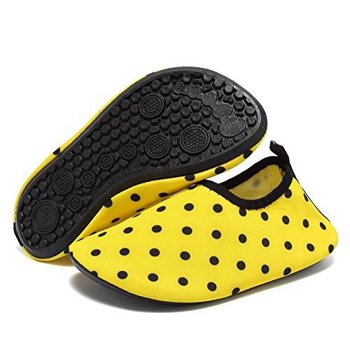 CIOR Women Mens Quick-Dry Water Sports Aqua Swimming Shoes Socks 06yellow vYBBr19jV