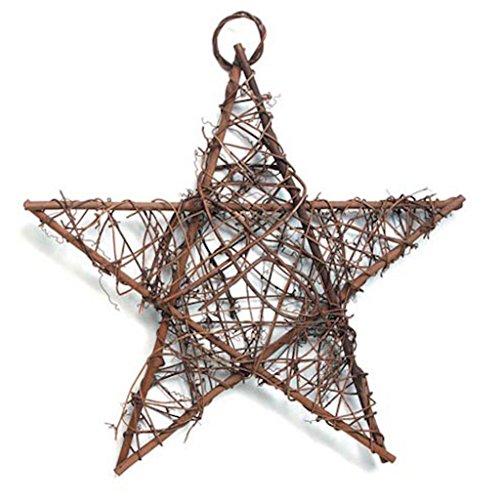 Grapevine Mesh Star for door decor or inside the house