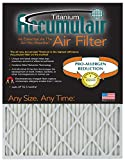 Accumulair Titanium 16x22x1 (Actual Size) High Efficiency Allergen Reduction Air Filter/Furnace Filter (6 Pack)