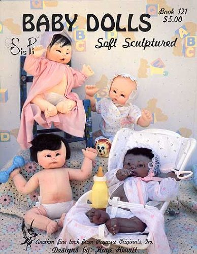 Pegasus Originals Sis Pi Soft Sculpture Dolls Pattern Book
