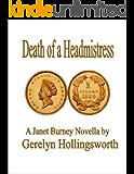 Death of a Headmistress (Janet Burney Genealogy Novellas Book 1)