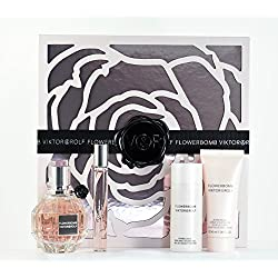 Viktor & Rolf Flowerbomb Gift Set - 1.7 Spray, Rollerball, Shower Gel & Body Cream