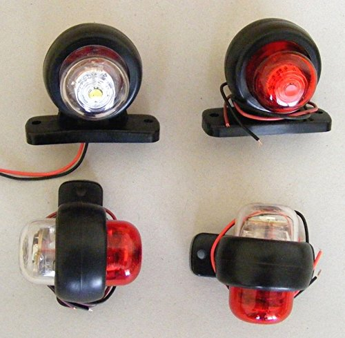 Autobus Van 4/x 24/V Bianco LED rosso laterale Outline posteriore luci telaio camion roulotte camper suv