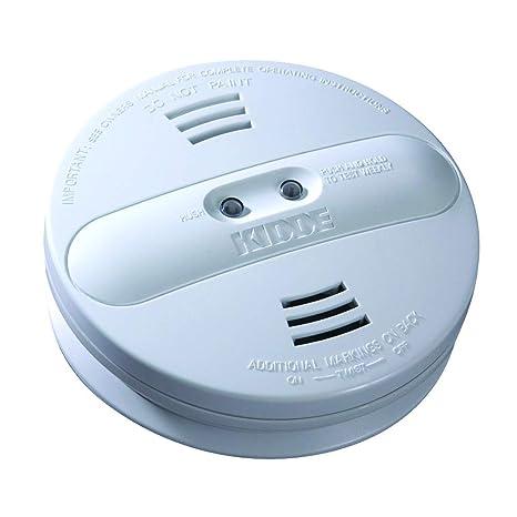 Kidde 442007 – Dual Sensor de humo alarma, batería de 9 V