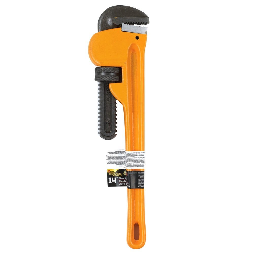 Tradespro 830914 14-Inch Heavy Duty Pipe Wrench by Tradespro