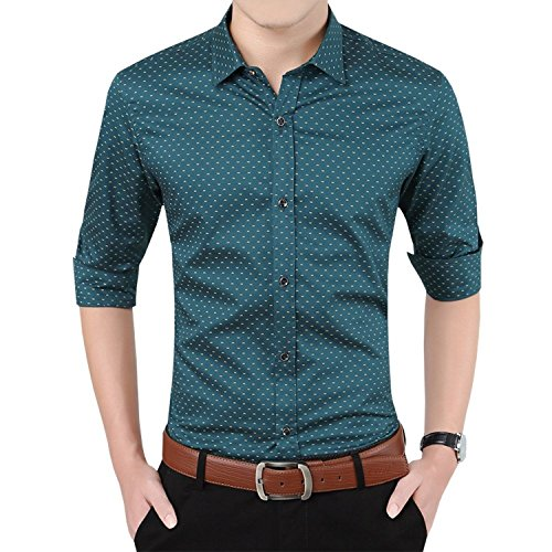 Men Casual Cotton - 8