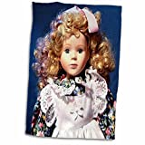 3dRose Florene Childrens Art II - Shirley Temple Doll - 12x18 Hand Towel (twl_50247_1)