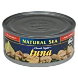 Natural Sea Tuna Ylwfin Chnk Lt Ns
