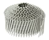 Hitachi 12321 2-Inch x .083 Ring Stainless Steel Coil Nail, 1,400 per Box