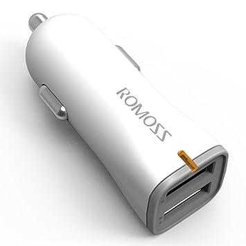 100% original ROMOSS au17 Dual USB carga rápida cargador de ...