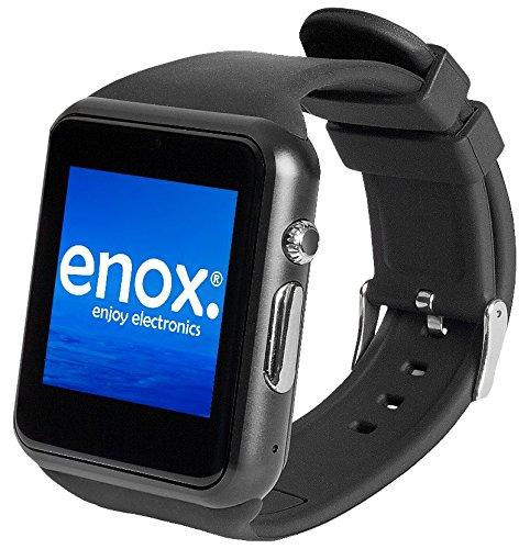 handy uhr mit sim karte Enox SWP22 SCHWARZ Smartwatch Smartphone Handyuhr SIM: Amazon.de