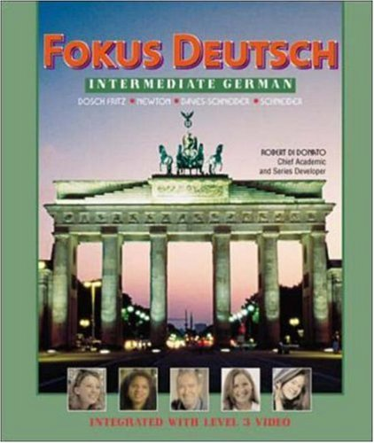 Fokus Deutsch:  Intermediate German (Student Edition + Listening Comprehension Audio CD) by McGraw-Hill Humanities/Social Sciences/Languages