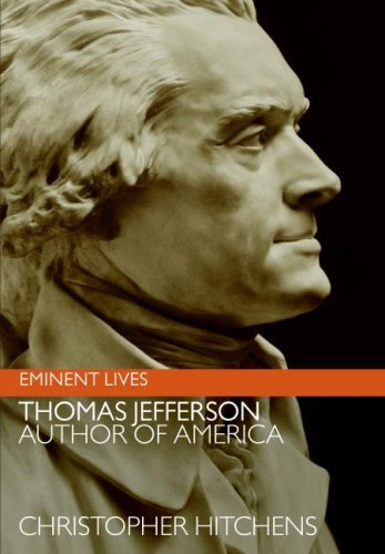 Thomas Jefferson: Author of America (Eminent Lives) cover