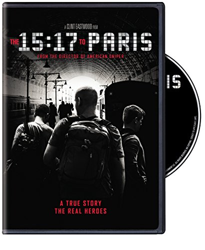 DVD : The 15:17 To Paris (Dubbed, Subtitled, Eco Amaray Case, Widescreen, Dolby)