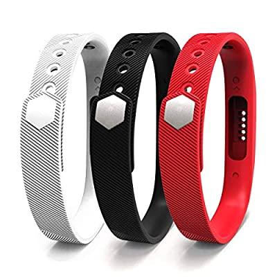 Fitbit Flex 2 Bands,JOMOQ Silicon Replacement Band for 2016 Fitbit Flex 2 Sports Classic Fitness Replacement Accessories Wrist Band