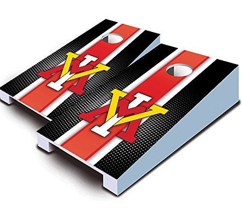 "VMI KEYDETS VIRGINIA MILITARY INSTITUTE ""Striped"" TABLETOP Desktop Cornhole Boards Game Set Bean Bag Tailgate Toss Mini Miniature"