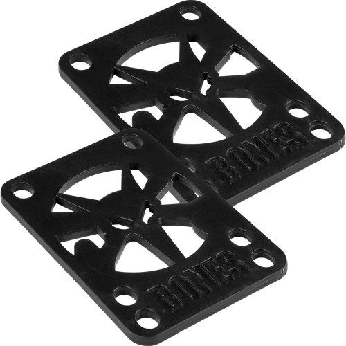 Bones Wheels Skateboard Riser Pad, 2-Pack ()