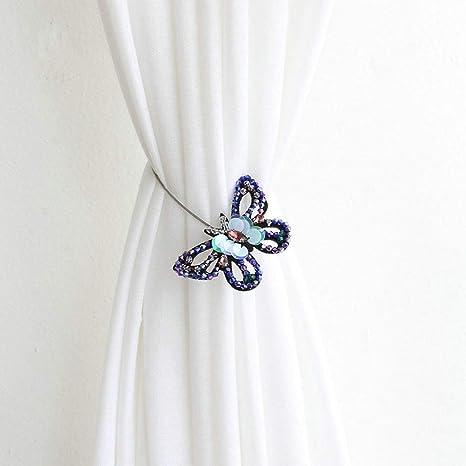 Magnetischer Schmetterling Raffhalter Gardinenhalter Vorhanghalter Vorhänge