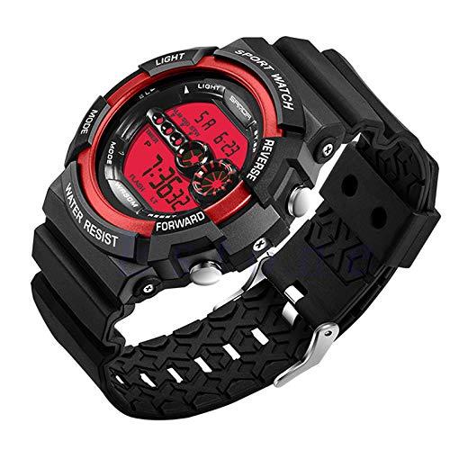 Wasserdicht Datum Led Digital Sport Quarz Analog Mens Military Armbanduhr Sport Elektronische Uhren Uhren Herrenuhren
