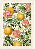 Michel Design Works Pink Grapefruit Cotton Kitchen Towel, Multicolor