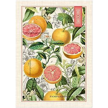 Michel Design Works Pink Grapefruit Cotton Kitchen Towel, Multicolor Part 37