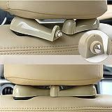 Amabest Beige Headrest Hook Car Hanger Hook Seat