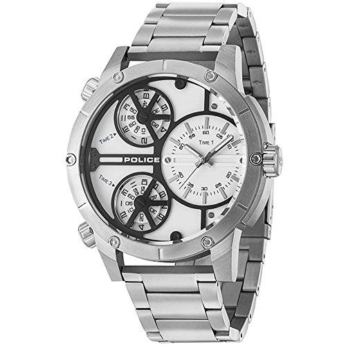 POLICE Rattlesnake watch R1453274001 silver man