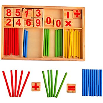 Counting Rods, YIFAN Baby Counting Sticks Math Tools Preschool Educational Toys