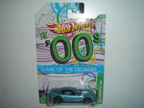 2012 Hot Wheels 00s Cars of the Decades '09 Corvette ZR1 Ice Blue/Black (W4000 Series)